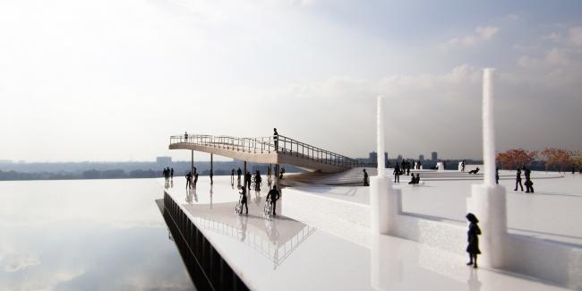 Смотровая площадка в Парке Бруклинского моста © BIG