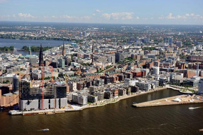 Хафенсити, Гамбург. Фото с сайта kcap.eu