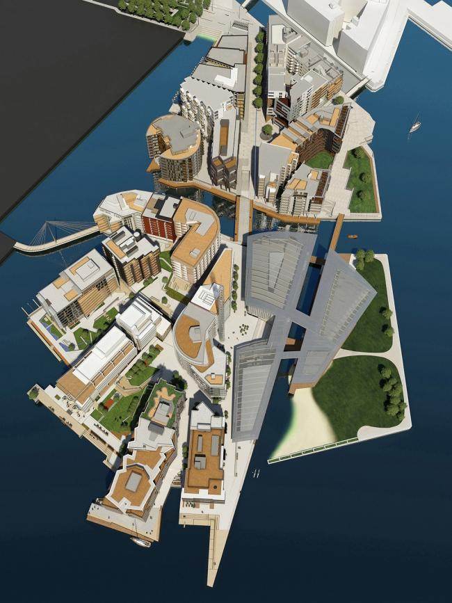 Район Тьювхольмен в Осло. Фото с сайта skyscrapercity.com