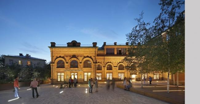 Бизнес-центр «Фабрика Станиславского». John McAslan + Partners/ Фото: © Hufton + Crow