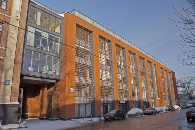 Бизнес-центр «Фабрика Станиславского». John McAslan + Partners/ Фото: www.photo-moskva.ru