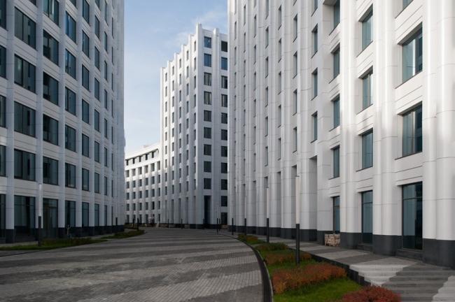 Офисно-деловой многофункциональный комплекс «Аквамарин».SPEECH Чобан&Кузнецов. Фото: Илья Иванов
