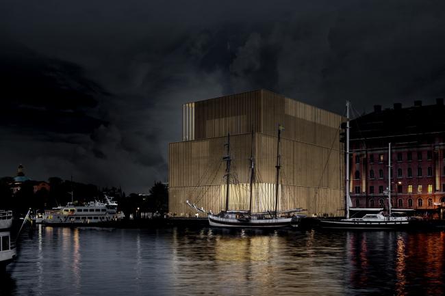 """""""Нобелевский дом / Nobelhuset"""". Дэвид Чипперфильд. Финалист © Nobelhuset AB"""