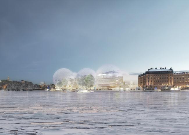 «Нобелевская сфера». SANAA © Nobelhuset AB