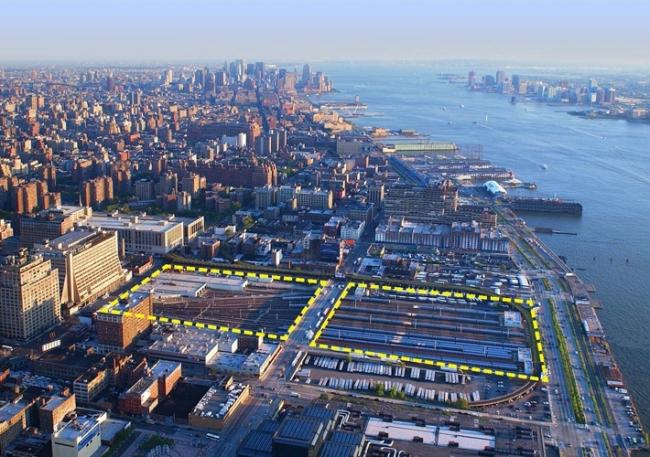 Проект Hudson Yards. Фото с сайта kpf.com