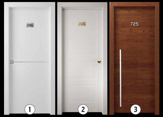 Варианты исполнения:  1.Окрашенная в цвета RAL гладкая матовая или глянцевая, окрашенная гладкая с металлическими вставками, ламинированная гладкая. 2.Окрашенная в цвета RAL с фрезерованным рисунком (глубина выборки 5 мм 3.Гладкая дверь, отделка – шпон дерева с металлическими вставками или без.