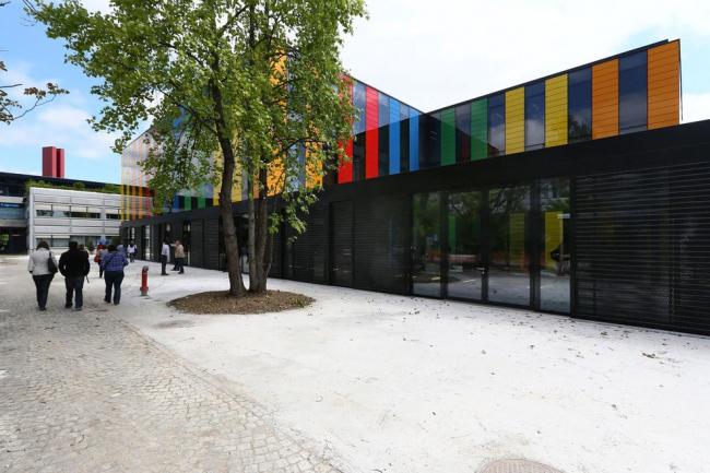 Корпус BI Федерального политехнического университета Лозанны © Léonore Baud / DPA / Adagp