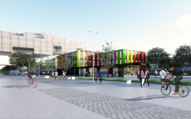 Корпус BI Федерального политехнического университета Лозанны © DPA / Adagp