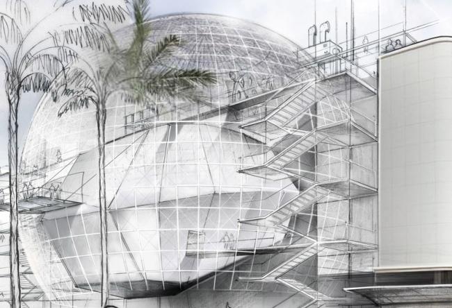 Музей Академии кинематографических искусств © RPBW