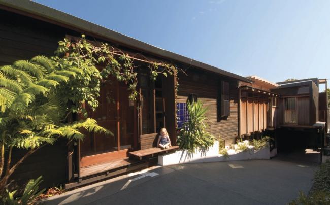 «Частный дом». Дом Left-Over-Space в Пэддингтоне, Австралия бюро Cox Rayner Architects, Casey & Rebekah Vallance. Предоставлено WAF