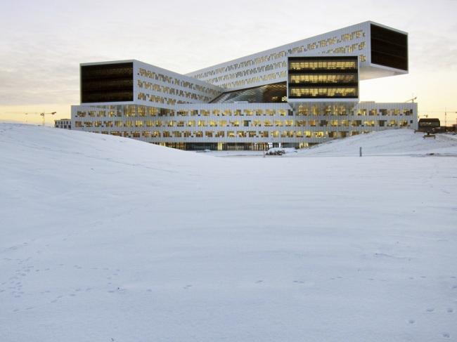 «Офис». Штаб-квартира компании Statoil в Осло бюро a-lab. Предоставлено WAF