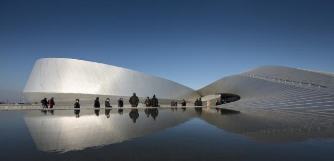 «Выставка». Аквариум «Голубая планета» в Копенгагене бюро 3XN. Предоставлено WAF