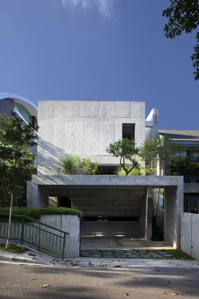 «Вилла». Namly House в Сингапуре CHANG Architects. Предоставлено WAF