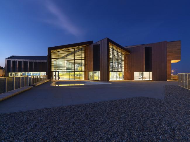 «Спорт». Досуговый центр Splashpoint в Уортинге бюро Wilkinson Eyre Architects. Предоставлено WAF