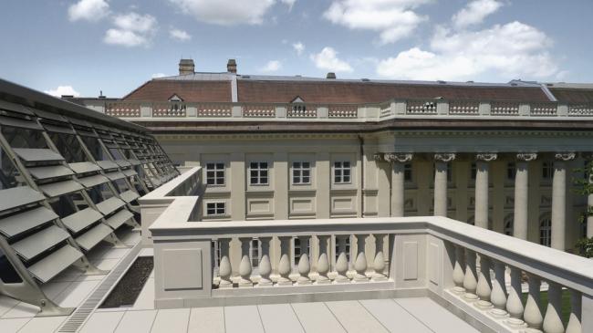 «Старое и новое» – приспособление дворца Разумофски в Вене бюро Baar-Baarenfels Architekten. Предоставлено WAF