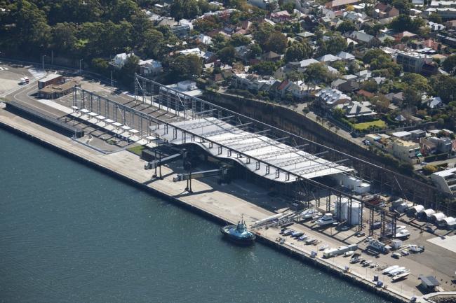 «Транспорт». Терминал круизных лайнеров в Сиднее бюро Johnson Pilton Walker Architects. Предоставлено WAF
