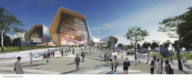 «Будущий проект года» – Национальный Китайский морской музей бюро Cox Architecture в Тяньцзине. Предоставлено WAF