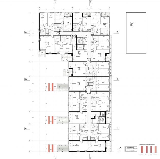 Жилой комплекс Version Rubis © Jean-Paul Viguier Architecture