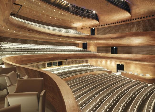 Национальный театр Бахрейна © Nicolas Buisson