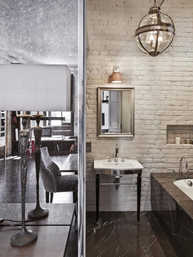 «Лучший дизайн интерьера частных апартаментов» Квартира на Покровке. Архитектурное бюро Олега Клодта. Фото: olegklodt.com