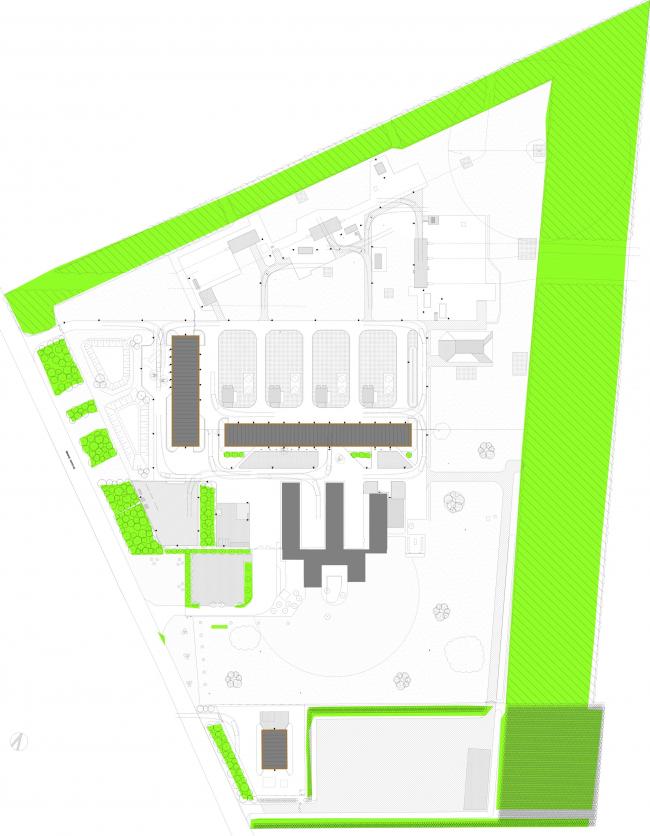 Газокомпрессорная станция Эгтвед © C. F. Møller Architects