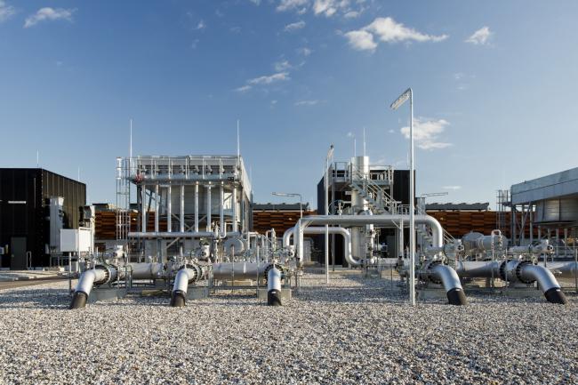 Газокомпрессорная станция Эгтвед © Julian Weyer