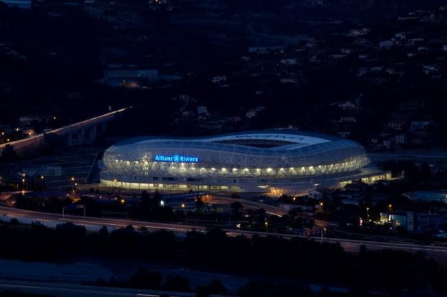 Стадион Allianz Riviera © Miläne Servelle