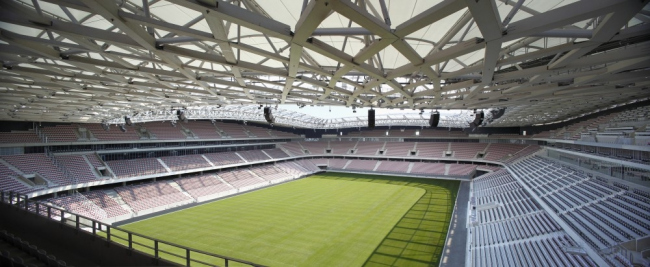 Стадион Allianz Riviera © Serge Demailly