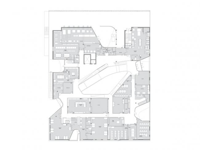 Корпус изобразительных искусств Университета Айовы © Steven Holl Architects