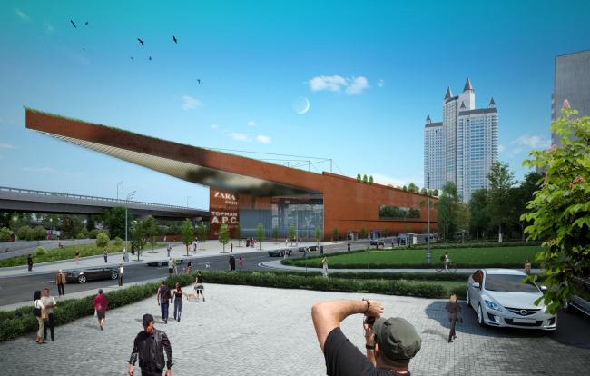 Многофункциональный комплекс «Славянка». Проект  © ABD architects
