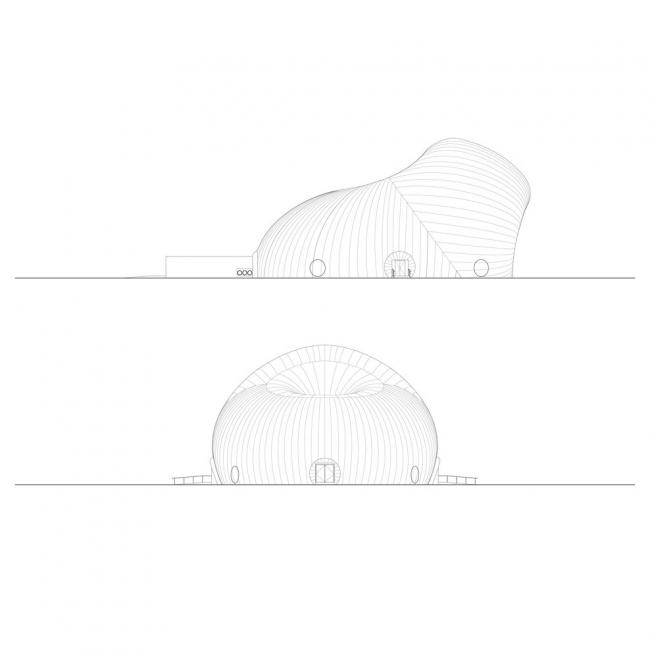 Концертный зал Ark Nova © Isozaki, Aoki & Associates