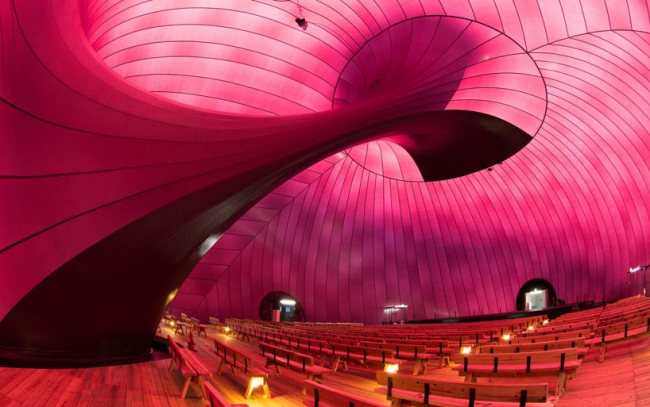Концертный зал Ark Nova © Lucerne Festival Ark Nova 2013