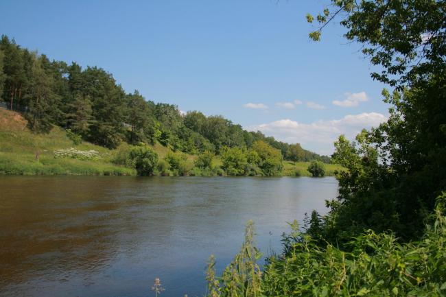 Поселок «Река-Река». Звенигород. Фото местности. 2013 © ДНК аг