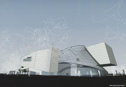 Музей Эли и Эдит Бродов. Проект «Кооп Химмельб(л)ау»