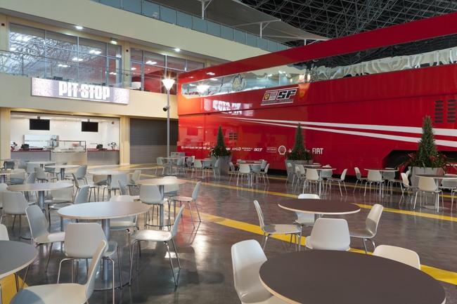 Парк развлечений Ferrari World. Фото предоставлено компанией Archi Studio