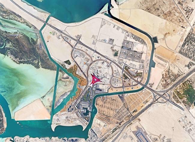 План парка развлечений на острове Яс. Иллюстрация с сайта www.worldarchitecture.com