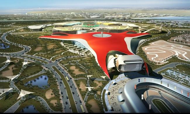 Парк развлечений Ferrari World. Фото с сайта www.goosystemglobal.com