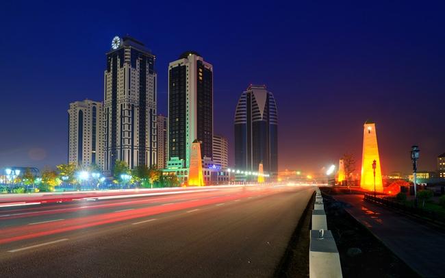 ЖК «Феникс» в бизнес-квартале «Грозный-Сити». Фото с сайта www.gpark.kz