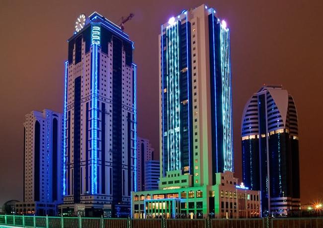 ЖК «Феникс» в бизнес-квартале «Грозный-Сити». Фото с сайта бпан.рф