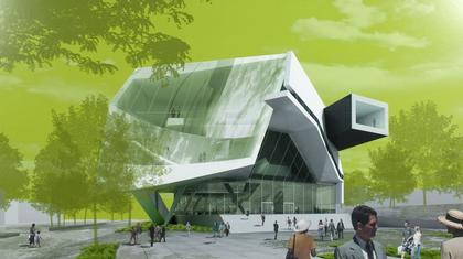 Музей Эли и Эдит Бродов. Проект Тома Мейна («Морфозис»)