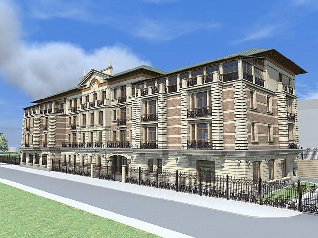 Офисное здание по ул. Довженко. Иллюстрация с сайта www.fodd.ru
