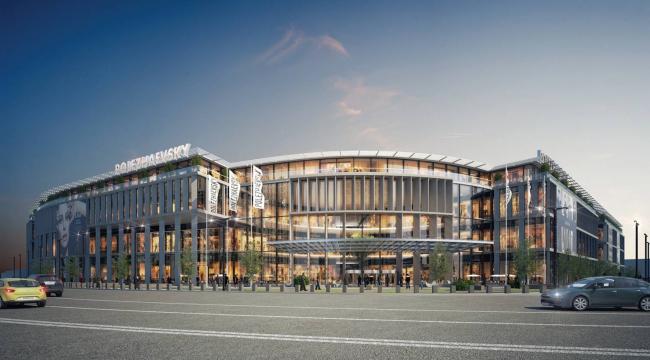 Архитектурно-градостроительная концепция размещения многофункционального комплекса на Хорошевском шоссе. Заказчик – ТПС «Недвижимость». Проектная организация – UNK Project