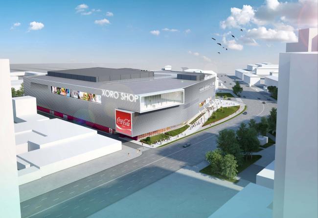 Архитектурно-градостроительная концепция размещения многофункционального комплекса на Хорошевском шоссе. Заказчик – ТПС «Недвижимость». Проектная организация – «АБД»