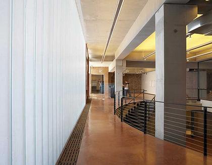 Центральная Секция Хиггинс-Холла Института Пратта