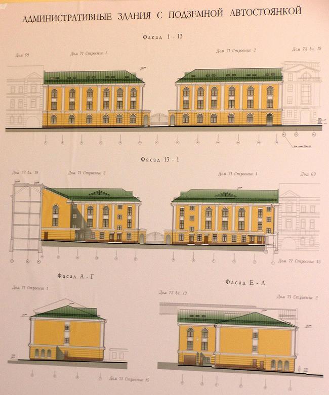 Проект регенерации под административные здания на Садовнической набережной