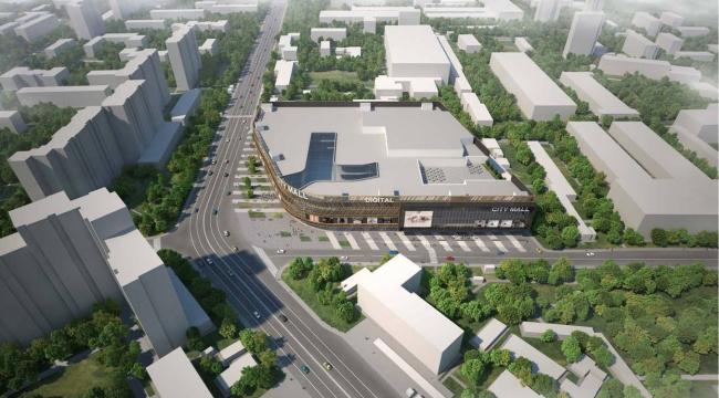Архитектурно-градостроительная концепция размещения многофункционального комплекса на Хорошевском шоссе. Заказчик – ТПС «Недвижимость». Проектная организация – «Бюро Архитектора Воронцова»