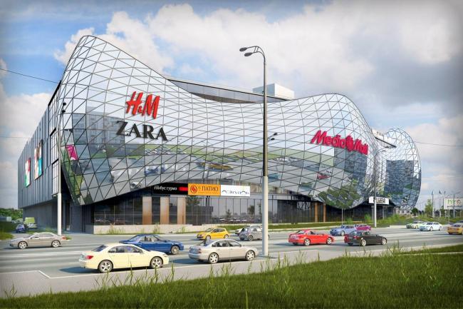 Архитектурно-градостроительная концепция размещения многофункционального комплекса на Хорошевском шоссе. Заказчик – ТПС «Недвижимость». Проектная организация – «Градпроект»