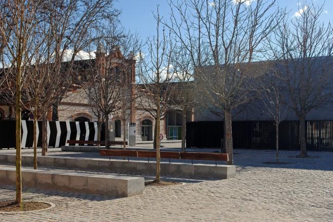Madrid Río. Культурный центр Matadero - бывшая скотобойня и животноводческий рынок. Фото © Надежда Щёма
