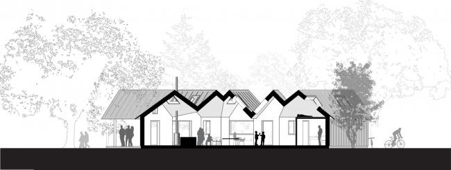 Дом Village House © Powerhouse Company