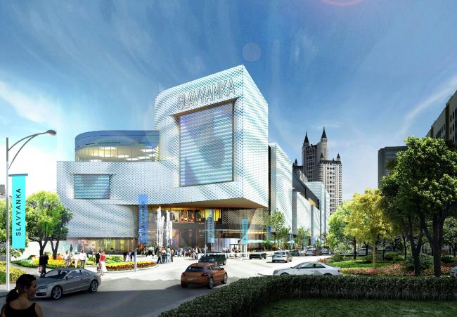 Многофункциональный комплекс «Славянка». Проект © Архитектурное бюро Асадова
